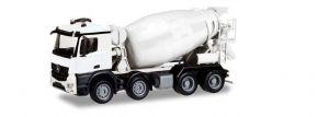 herpa 013147 MiniKit Mercedes-Benz Arocs M Betonmischer 4-achs weiss  LKW-Modell Bausatz 1:87 kaufen
