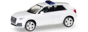 herpa 013161 MiniKit Audi Q2 weiss Blaulichtmodell Bausatz 1:87