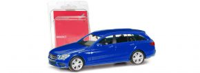 herpa 013284-002 Minikit MB C-Klasse T-Modell ultramarinblau | Bausatz 1:87 kaufen