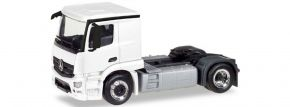 herpa 013291 MiKi MB Actros Classicspace Zgm weiss | Bausatz 1:87 kaufen