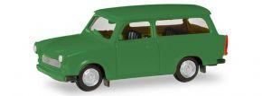 herpa 020770-004 Trabant 601S Universal panamagrün Automodell 1:87 kaufen