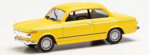 herpa 022309-002 BMW 1602 Limousine gelb | Modellauto 1:87 kaufen