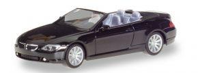 herpa 023245-002 BMW 6er Cabrio E64 schwarz Automodell 1:87 kaufen
