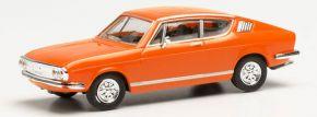 herpa 023702-002 Audi 100S S-Coupe orange | Modellauto 1:87 kaufen