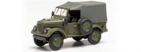 herpa 024792-002 GAZ 69 Felgen olivgrün | Militaria Modell 1:87 kaufen