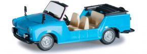 herpa 024808-002 Trabant Kübel, himmelblau Modellauto 1:87 kaufen