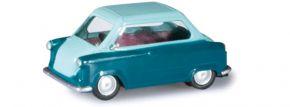 herpa 027571-002 Zündapp Janus, pastelltürkis Modellauto 1:87 kaufen