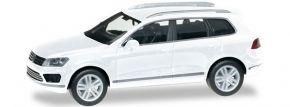 herpa 028479-002 VW Touareg Facelift weiss | Automodell 1:87 kaufen