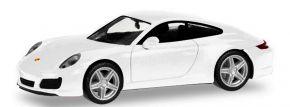 herpa 028523-002 Porsche 911 Carrera2 Coupe weiss Automodell 1:87