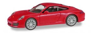 herpa 028639-002 Porsche 911 Carrera 4S indischrot Automodell 1:87 kaufen