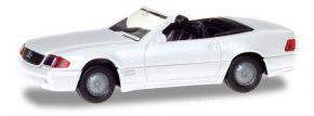 herpa 028851 Mercedes-Benz 500SL R129  weiss Automodell 1:87 kaufen