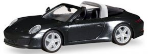 herpa 028905 Porsche 911 Targa 4S schwarz | Automodell 1:87 kaufen