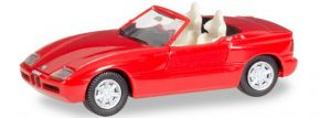herpa 028912 BMW Z1 Roadster History Edition rot | Automodell 1:87 kaufen