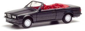 herpa 030595-002 BMW 3er E30 Cabrio blacksaphir | Automodell 1:87 kaufen