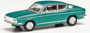 herpa 033701-002 Audi 100 S-Coupe grün metallic | Modellauto 1:87 kaufen