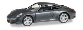 herpa 038645 Porsche 911 Carrera 4 achatgrau-metallic Automodell 1:87 kaufen