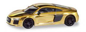 herpa 038973 Audi R8 V10 Plus goldglänzend Automodell 1:87 kaufen