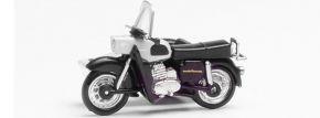 herpa 053433-006 MZ 250 mit Beiwagen silber schwarz Miniaturmodell1:87 kaufen
