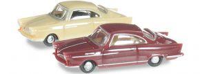 herpa 065757-003 NSU Sport Prinz, grünbeige/weinrot Automodelle Spur N 1:160 kaufen