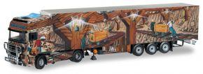 herpa 070645 DAF XF 95 SSC KüKoSzg Weltgeschichte Nr. 2 | LKW-Modell  1:50 kaufen