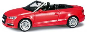 herpa 070805 Audi A3 Cabrio, brillantrot Automodell 1:43 kaufen