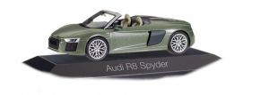 herpa 071352 Audi R8 Spyder camouflagegrünmetallic Automodell 1:43 kaufen