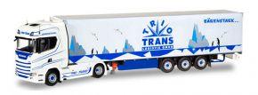 herpa 071369 Scania CS 20 HD Kühlkoffersattelzug Trio Trans LKW-Modell 1:50 kaufen