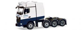 herpa 071376 Mercedes-Benz Arocs SLT Schwerlastzugmaschine Wasel LKW-Modell 1:50 kaufen