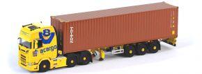 herpa 071581 Scania CS20 HD 6x2 Containersattelzug acargo Truckerbabe Jana LKW-Modell 1:50 kaufen