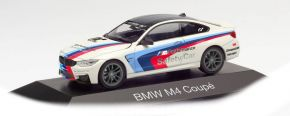 herpa 071604 BMW M4 Coupé Safety Car M Performance weiss Automodell 1:43 kaufen