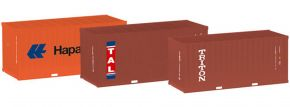 herpa 076432-003 20 ft Container Hapag Lloyd TAL Triton 3 Stück | Zubehör 1:87 kaufen
