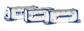 herpa 076500-004 Tankcontainer Set 3 Stück Zubehör 1:87 kaufen