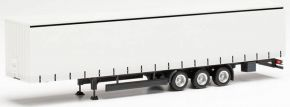 herpa 077002 Gardinenplanen-Auflieger 15 Meter weiß | Anhänger-Modell 1:87 kaufen
