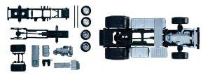 herpa 083652 Mercedes-Benz Actros 2011 Zgm-Fahrgestell 2 Stück Bausatz 1:87 kaufen