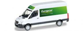 herpa 092753 MB Sprinter Europcar Kasten | Automodell 1:87 kaufen