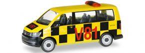 herpa 092821 VW T6 Bus Follow Me Flughafen | Automodell 1:87 kaufen