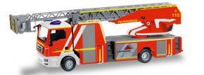 herpa 093064 MAN TGS M Metz Drehleiter 32XS Feuerwehr Göppingen Blaulilchtmodell 1:87 kaufen