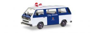 herpa 093101 VW T3 Bus Citystreife Ordnungsamt Leverkusen Blaulichtmodell 1:87 kaufen