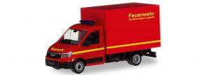 herpa 094320 MAN TGE mit Kofferaufbau  Feuerwehr neutral Blaulichtmodell 1:87 kaufen