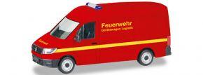 herpa 093477 VW Crafter Kastenwagen FW Gerätewagen   Blaulichtmodell 1:87 kaufen