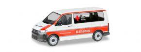 herpa 093859 VW T6 Bus  DRK Stuttgart Kältebus Blaulichtmodell 1:87 kaufen