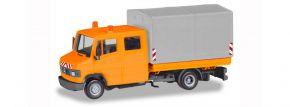 herpa 094177 Mercedes-Benz T2 Pritsche und Plane kommunal BASIC Automodell 1:87 kaufen