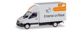 herpa 094542 Mercedes-Benz Sprinter mit Kofferaufbau Trans-O-Flex Automodell 1:87 kaufen