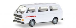 herpa 094658 VW T3 Bus Interflug Automodell Spur H0 kaufen
