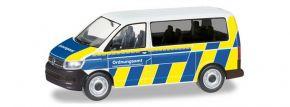 herpa 094764 VW T6 Bus Ordnungsamt Düsseldorf Automodell Spur H0 kaufen
