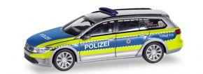 herpa 095020 VW Passat Variant GTE B8 Polizei Hessen Blaulilchtmodell 1:87 kaufen