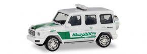 herpa 095082 Mercedes-Benz G-Klasse Polizei Dubai Blaulichtmodell 1:87 kaufen