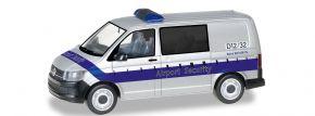 herpa 095235 VW T6 Halbbus Fraport Airport Security Blaulichtmodell 1:87 kaufen