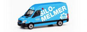 herpa 095419 MB Sprinter 13 Silo Melmer | Automodell 1:87 kaufen