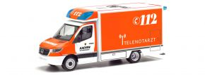 herpa 095495 MB Spr 18 Fahrtec RTW Telenotarzt | Blaulichtmodell 1:87 kaufen